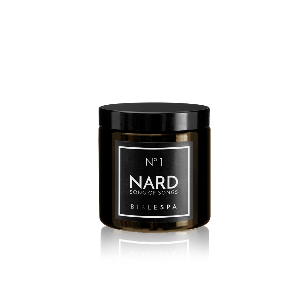 Nard foam soap with the spikenard, rose and oriental scences