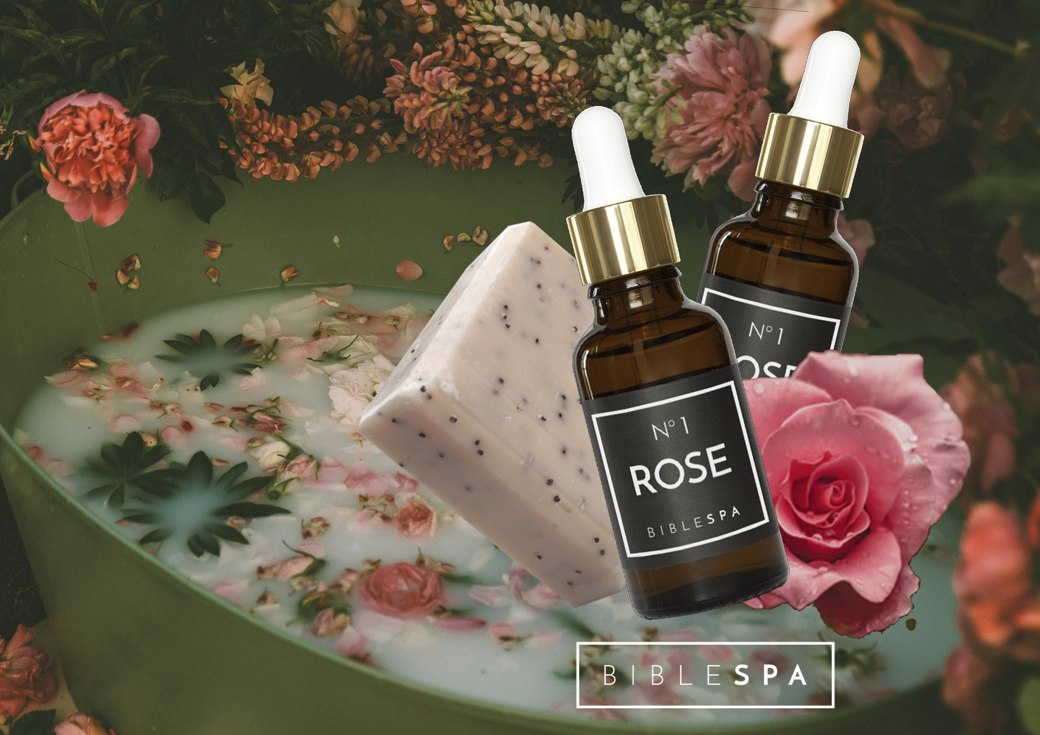 The Rose of Sharon soap