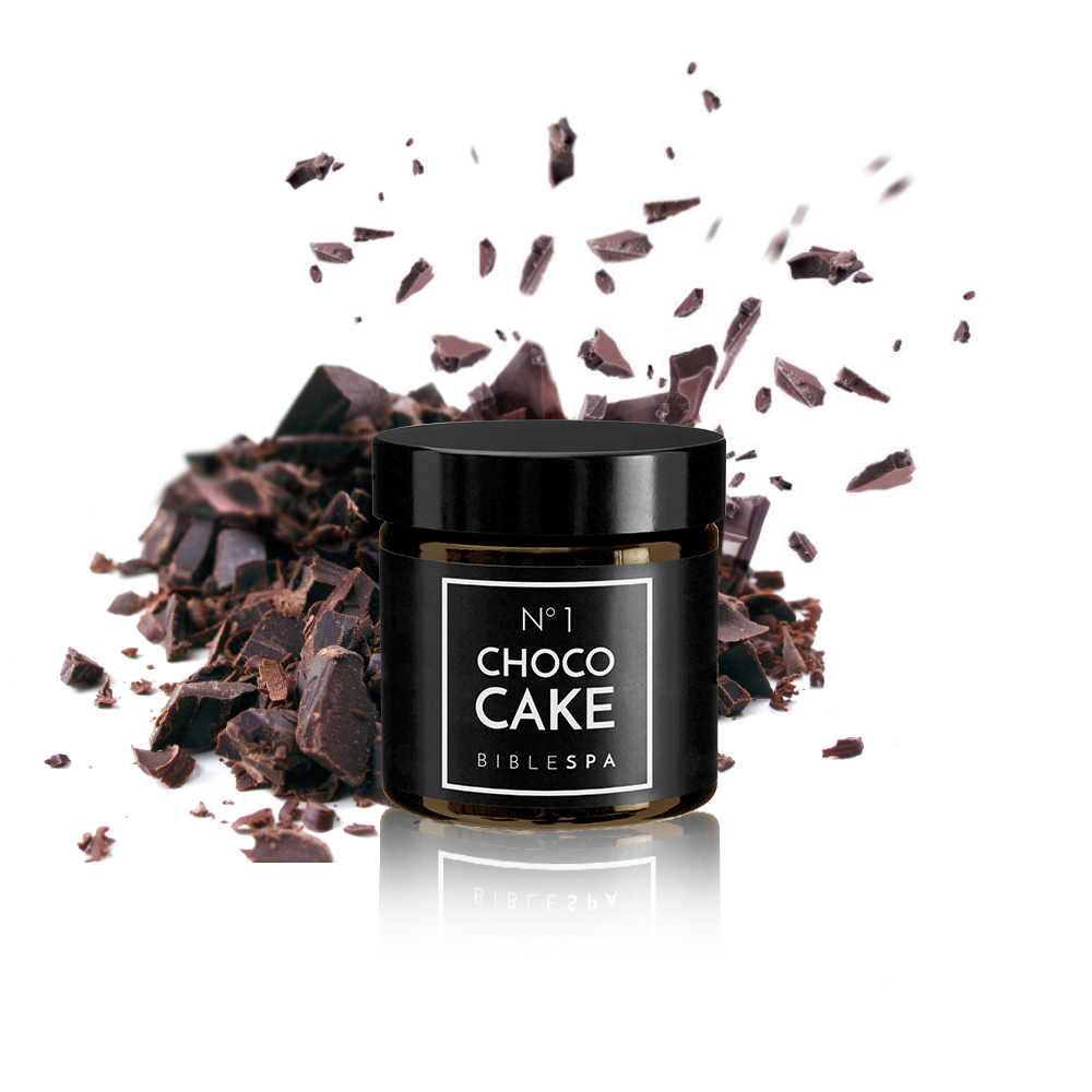 """Strenghten me with the raisins cakes, because I'm sick with love"". This verse of the Song of Songs became an inspiration to our biblical face mask. And of course, it smells like choco raisins cake! A real feast for your skin! Bible SPA CHOCO CAKE is a natural, organic cleansing mask. It smells so good you want to eat it!"