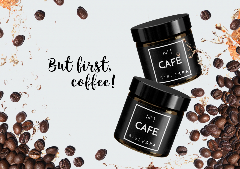 "In the Scriptures we read: ""I am black, but beautiful!"" So is our new black coffee body peeling. Prepare your body for a tan! Excellent, organic coffee scrub deeply cleanses and smoothes the skin. And it smells like a Holy Land cafe!"